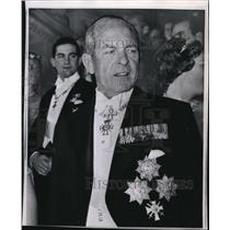 1964 Press Photo King Paul of Greece - ora29039