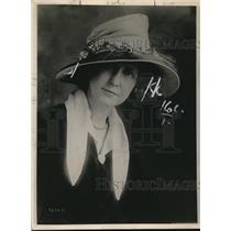 1918 Press Photo Arline Scully of Atlanta Ga visits in Wash DC