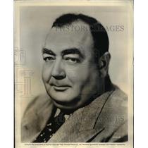 1956 Press Photo Eugene Pallette in It Ain't Hay - orp22078