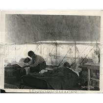 1926 Press Photo Tent hospital at Az desert camp for film Beau Geste film crew