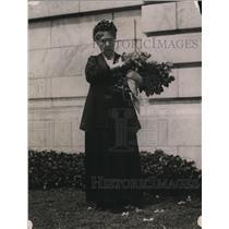 1920 Press Photo Mrs Matthew T Scott hon pres gen of the DAR