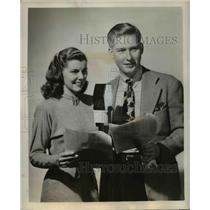 1947 Press Photo Billy Redfield & Jean Gillespie in Willie Piper