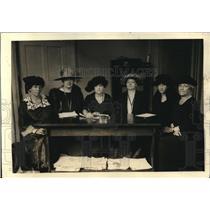 1922 Press Photo Natl League if Women Voters,McLintock,Haiford,Park, Stewart