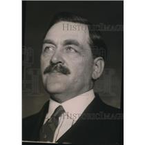 1921 Press Photo Circuit Judge WC Pentecost for Burkett murder case