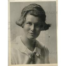 1926 Press Photo Mrs Gordon Floyd Ferris in Palo Alto after pursuing flora