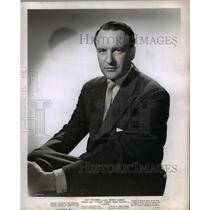 1947 Press Photo George Sanders stars as Robert Fleming in Lured