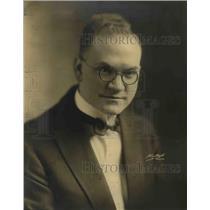 1920 Press Photo Organist F.B. Schoel - orp26479