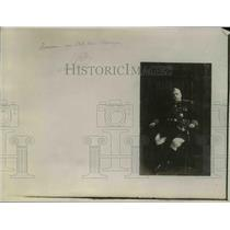 1918 Press Photo General Marshal Joffre of France