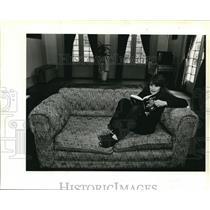 1984 Press Photo Carolyn Fatooh opened her Northeast Portland home to travelers