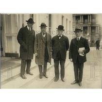 1922 Press Photo Marshall Pickering, Rep Isaac Backrack NJ, Ed Schmid