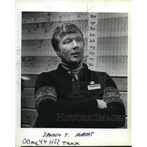1984 Press Photo Dawson T. Hubert of Timberline Lodge - ora40565