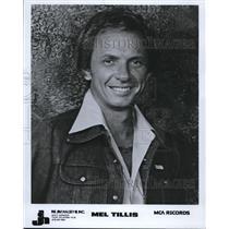 1981 Press Photo Mel Tillis