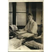 1920 Press Photo Mrs Annette Adams asst atty general of the US