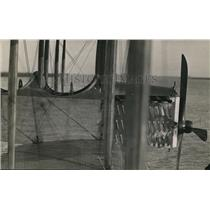1923 Press Photo Plane Propeller & Cockpit