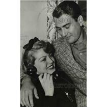 1940 Press Photo Artie Shaw and Lana Turner marry - orp26343