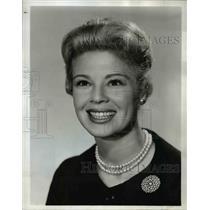 1962 Press Photo Betsy Palmer on I've got a secret - orp22079