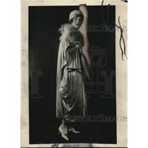 1920 Press Photo Viola Kraus witness in Elwell Murder Case