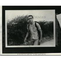 1966 Press Photo Ronald T. Hornberger taken in Guatemala before disappearance