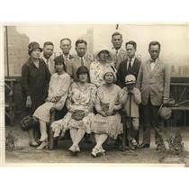 1929 Press Photo NYC Philipino s Zamora,Torres,Herrera,Zamouri,Tisoqui,Bonsan