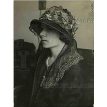 1923 Press Photo Mrs. Frances of San Francisco who Gave Away Her Baby