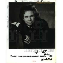 1993 Press Photo Tribune Entertainment presents The Dennis Miller Show with