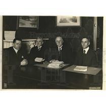 1919 Press Photo L-R McCarthy,Hanger,JF Rowley,George Marks &HJ Morris