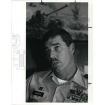 1990 Press Photo Ohio National Guard, Lieutenant Colonel robert J. Labadie