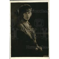 1919 Press Photo Mrs. Teisanu, wife of Maj. Teisanu, Military Attache of Romania