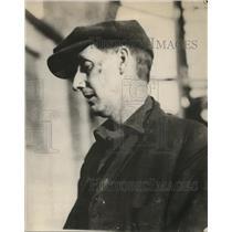 1926 Press Photo Matthew Barnes Non Union Miner at Newburg Indiana