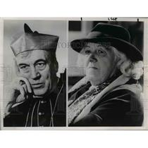 1964 Press Photo Margaret Rutherford & Peter Ustinov in The VIP's - orp25772