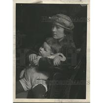 "1923 Press Photo Mrs. Irene Sierro and ""Baby Billy"""
