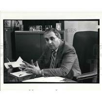 1990 Press Photo New Police Chief Thomas Murphy of Garfield Hts. - cva29232