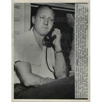 1951 Press Photo Rosewell Dixie Walker - nee01135