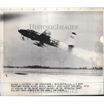 1956 Press Photo Navy Neptune Patrol Plane P2V-2