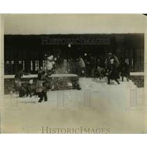 1928 Press Photo Westchester County Girls on their winter sport - ned92800