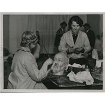 1930 Press Photo  Madame Tussauds wax figure of King Edward VII