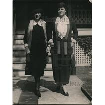 1921 Press Photo Mrs. J.J. Cheatham & her daughter Ms. Cheatham