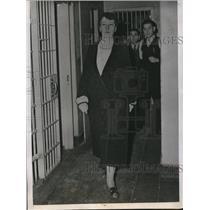 1938 Press Photo Summer Knox, Mother's Murder Suspect, Iowa - ned95467