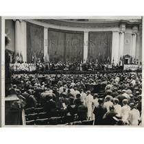 1933 Press Photo Daughters of American Revolution convention opens in Washington