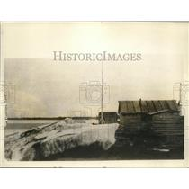 1926 Press Photo Ice Foot in Canadian Arctic