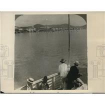 1928 Press Photo View of Guayaquil,the great port on the Guayas River in Ecuador