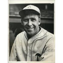 1931 Press Photo Rube Walberg, pitcher, Philadelphia Athletics