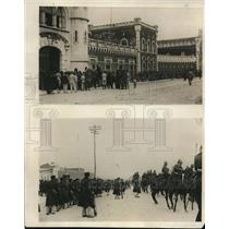 1925 Photo Lisbon Portugal - Surrendered Revolutionary Soldiers Herde