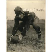 1924 Press Photo Adolph Eckstein, All-American, Brown University football team