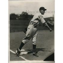 1929 Press Photo Clyde Beck of the Chicago Cubs - 9