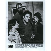 Undated Press Photo Greg Evigan Torri Higginson Eugene Clark Mark Marut Tek War