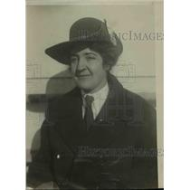 1921 Press Photo Mrs M Kerr from the Girl Scouts of London