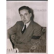 1937 Press Photo Count Guilio Marconi, Son of Italian Wireless Inventor