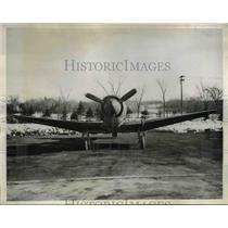 1944 Press Photo Patterson NJ Wright Aeronautical plane of new style