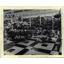 1988 Press Photo Flowers Finast Store in Brooklyn , Oh